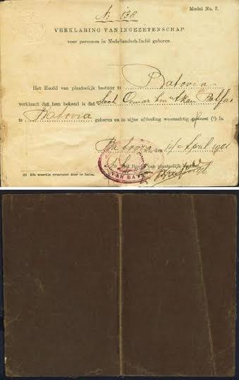 KTP Zaman Penjajahan Belanda