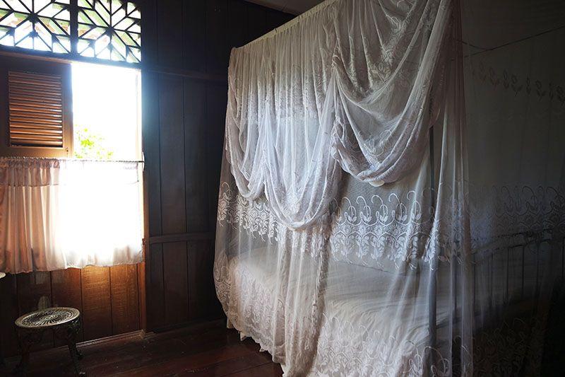 kamar ibu fatmawati bergaya vintage