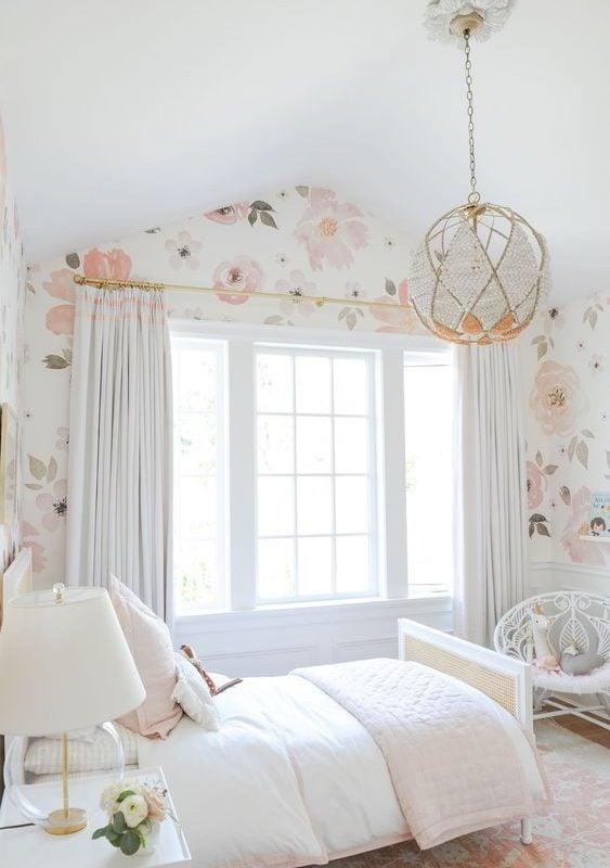 Kamar Wallpaper Floral