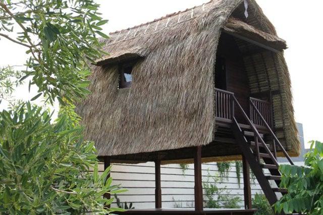 rumah adat bali klumpu jineng