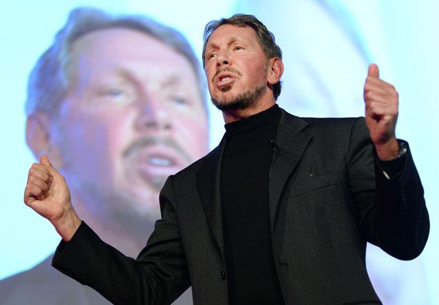 Larry Ellison Pendiri Oracle