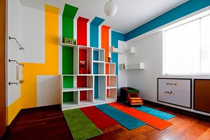 blok warna kontras