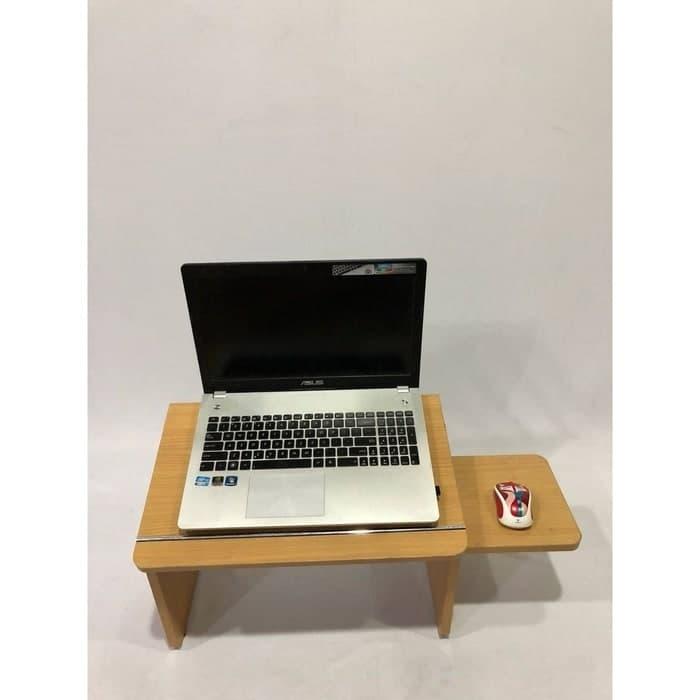 Meja Laptop Lesehan Kayu