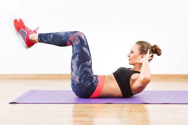 cara melatih otot perut