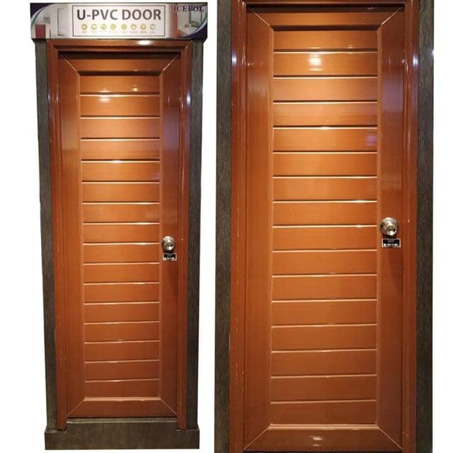 pintu upvc minimalis
