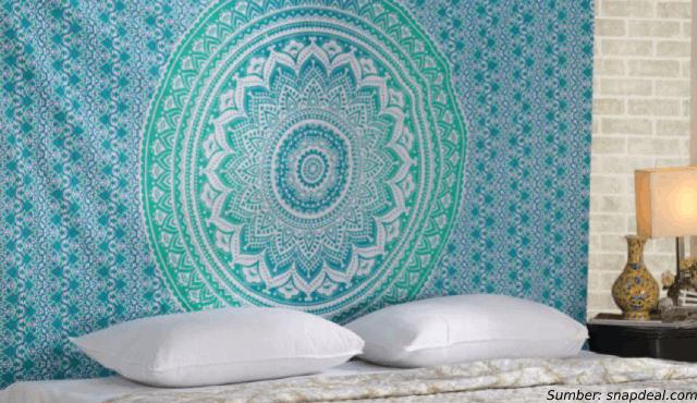 Yuk, Dekorasi Rumah dengan Mandala Tapestry yang Penuh Warna!