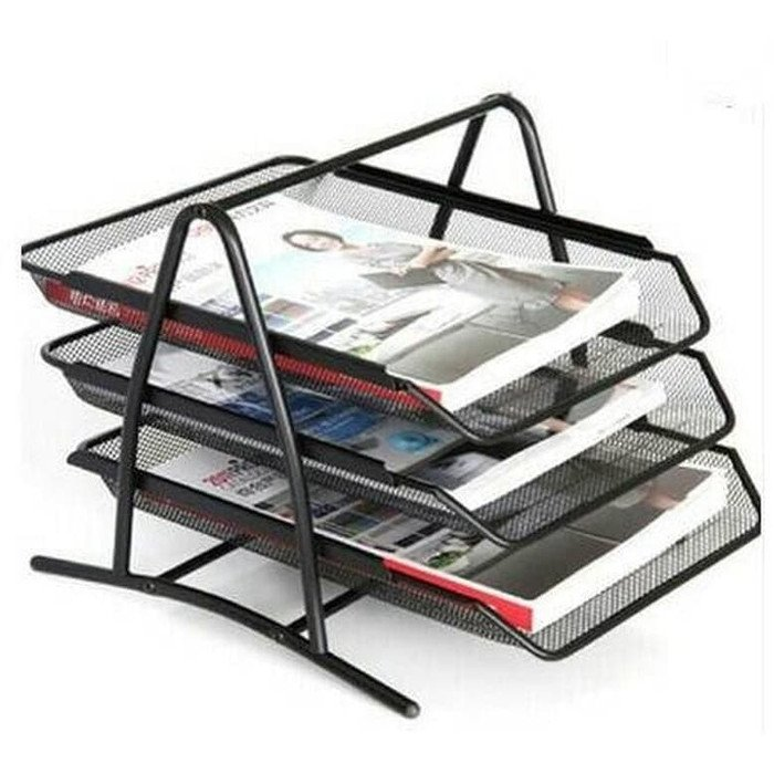 Rak Buku Multifungsi Tray 3