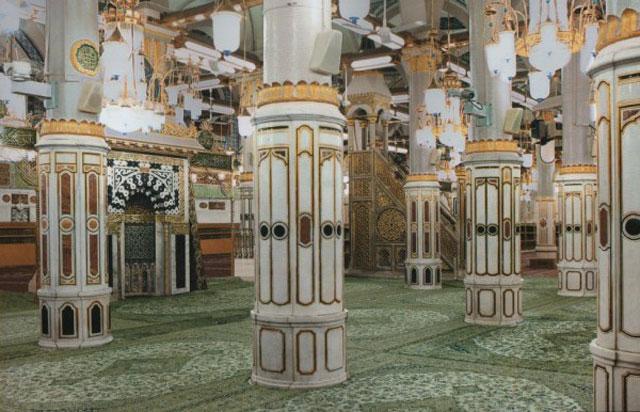 Raudhah dalam Masjid Nabawi