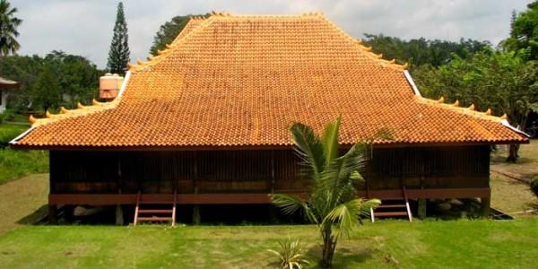 rumah adat palembang