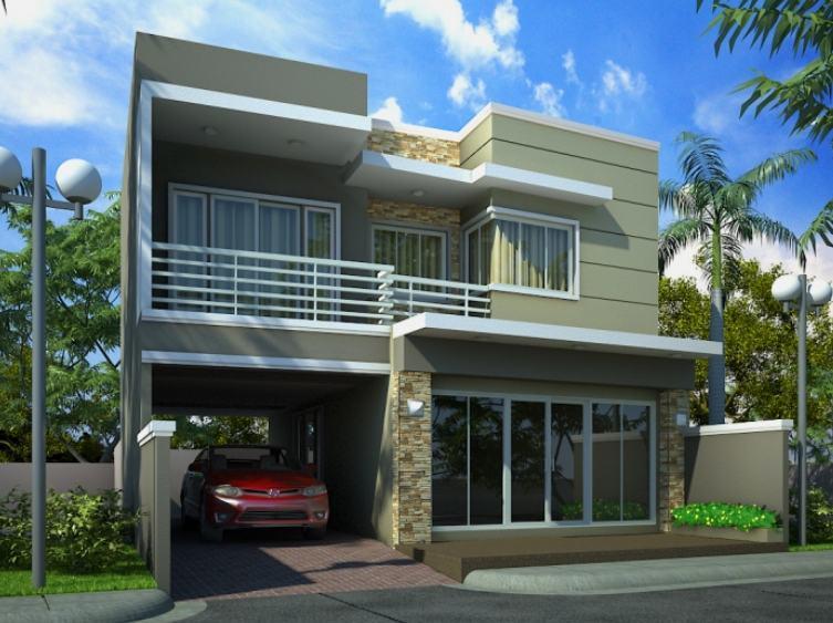 rumah tingkat minimalis