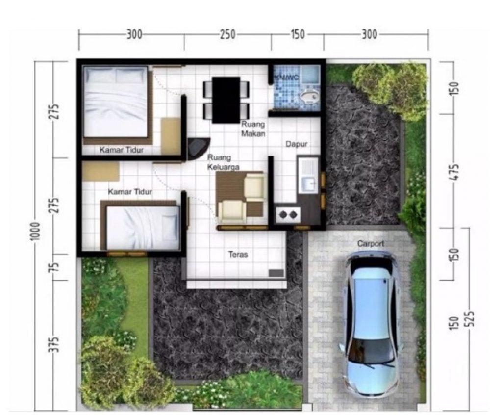 Rumah Mungil yang Sederhana