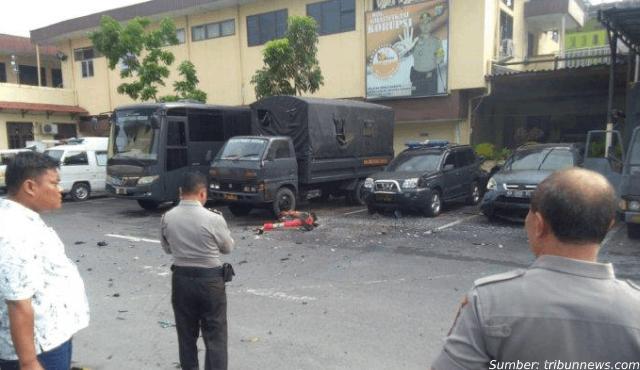 5 Fakta Mengerikan di Balik Kasus Bom Bunuh Diri di Medan