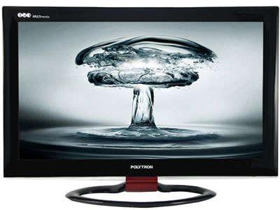 TV LCD polytron hitam
