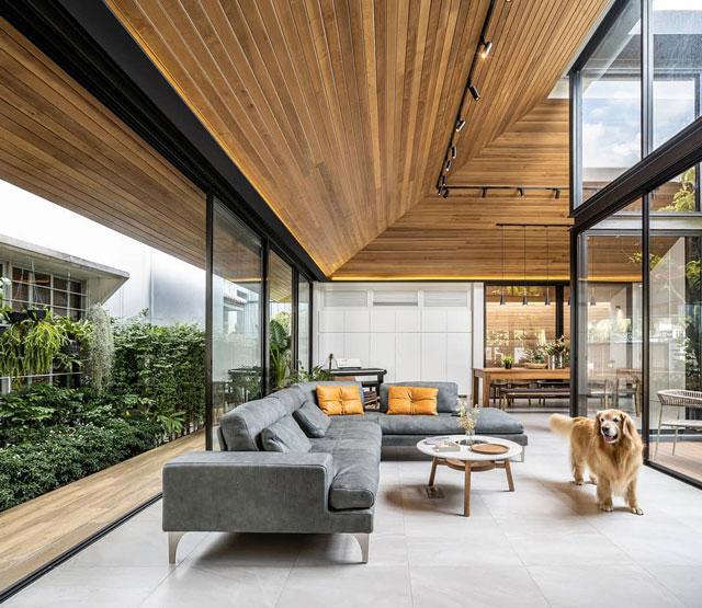 ruang tamu modern