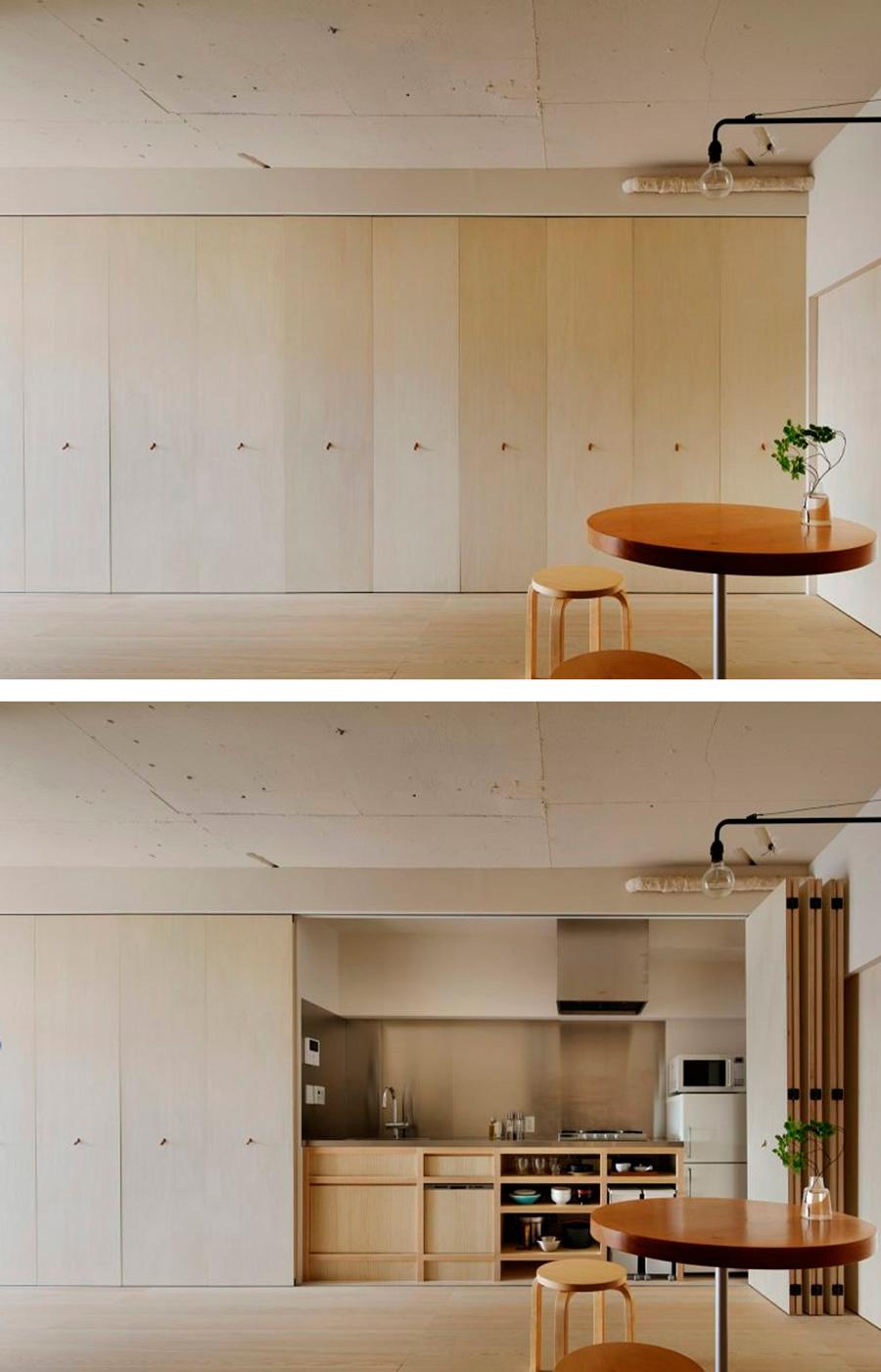 area dapur tersembunyi