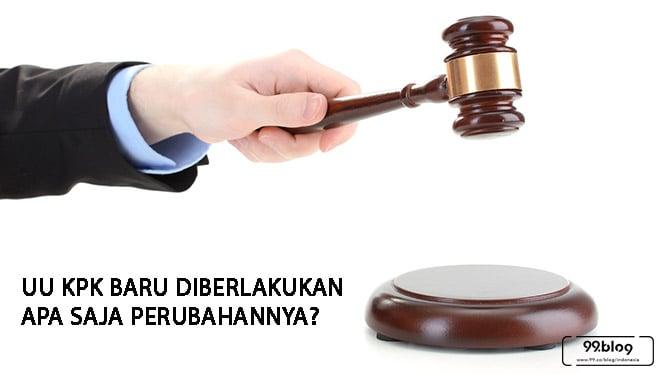 UU KPK Baru Diberlakukan Hari Ini, Simak Sejumlah Perubahannya!