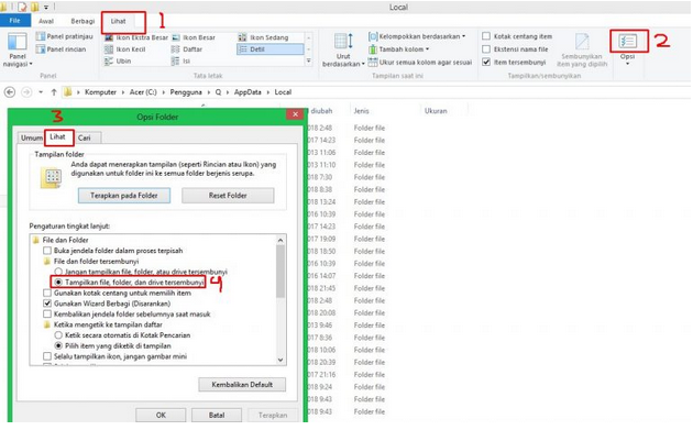 Uninstall Chromium di Windows 8