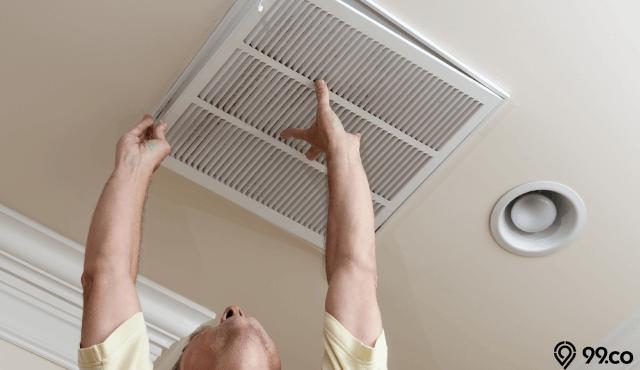Ventilasi Udara di Atap Rumah