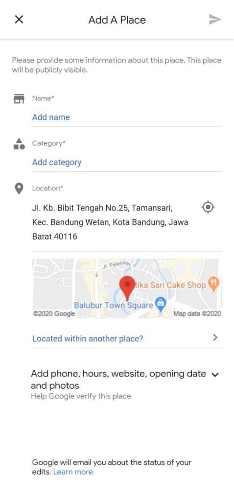 Lihat Cara Membuat Toko Ada Di Google Maps Terbaru