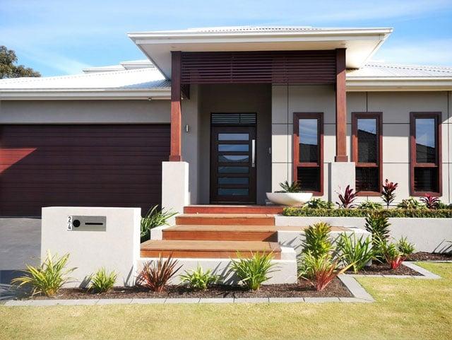 rumah tropis minimalis