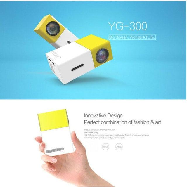 proyektor mini yg-300