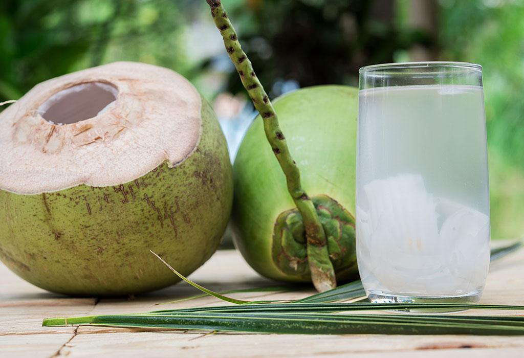 air kelapa segar