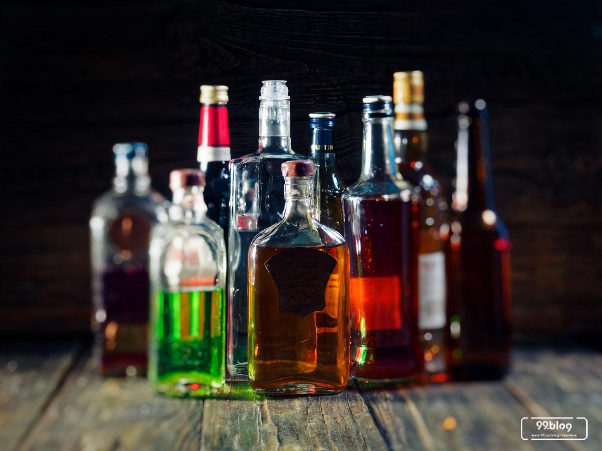 barang dagangan utama alkohol