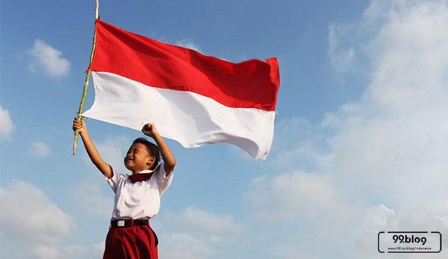 anak tak hormat bendera