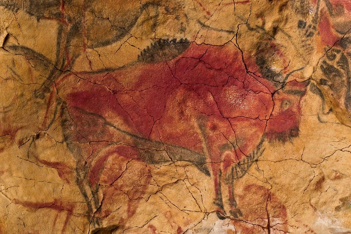 gambar lukisan gua tertua dari spanyol