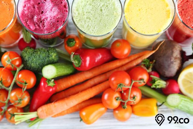 aneka jus sayuran