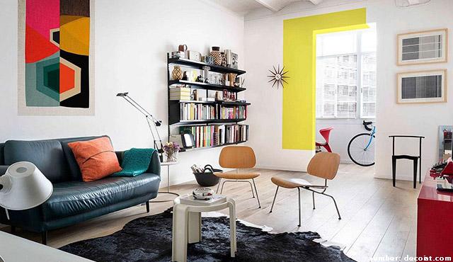 Renovasi Apartemen Minimalis dengan Blok Warna | Suasana Hunian Tak Lagi Membosankan!