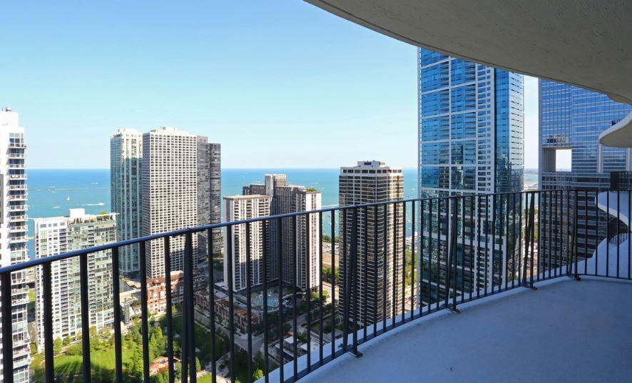 pemandangan apartemen