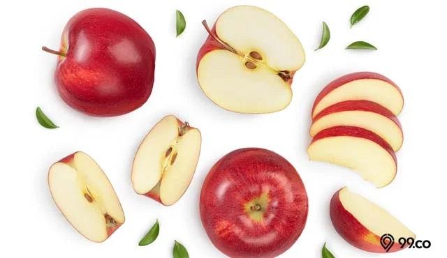 apel berkhasiat untuk kesehatan rambut