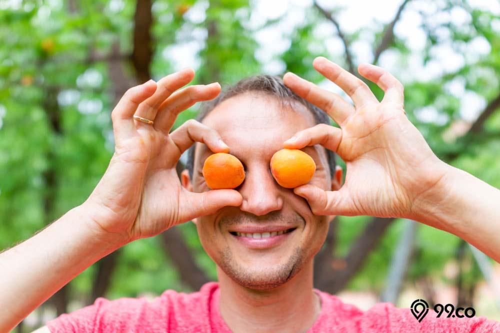 buah aprikot untuk mata sehat