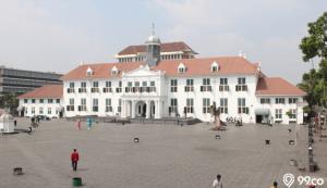 arsitektur kolonial museum fatahillah