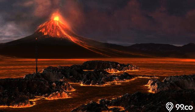13 Arti Mimpi Gunung Meletus Pertanda Baik dan Buruk. Tak Perlu Cemas...