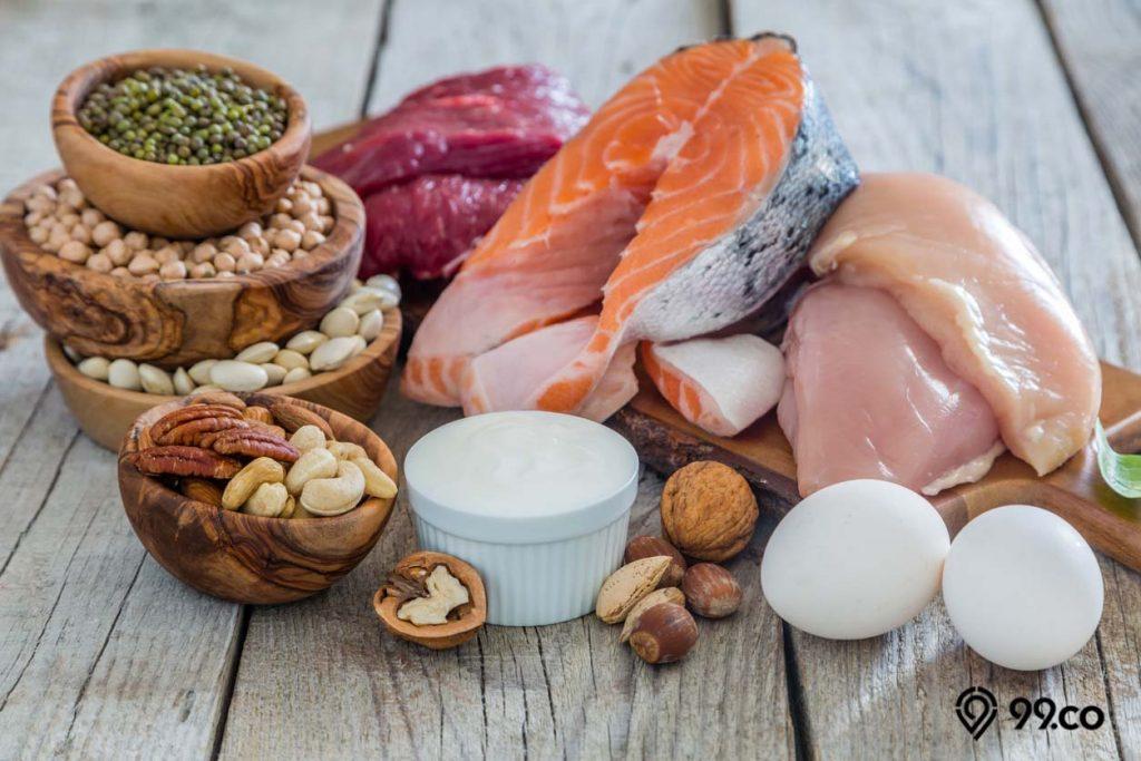 menambah asupan protein menghilangkan lemak perut