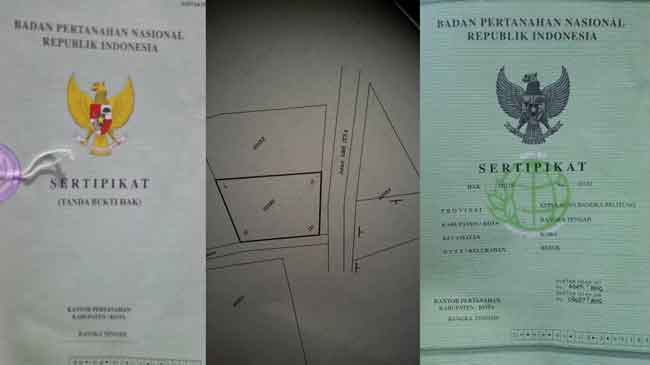 prosedur memecah sertifikat tanah