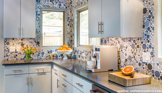 ide backsplash dapur