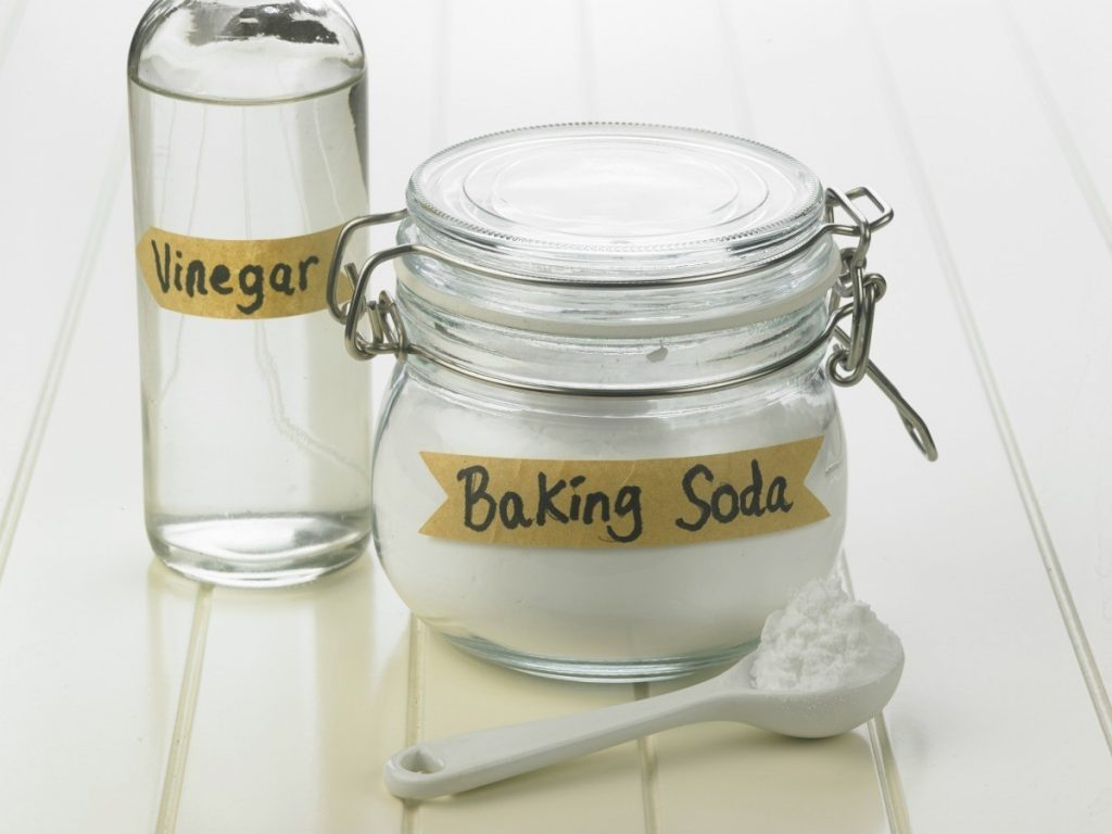 baking soda dan cuka