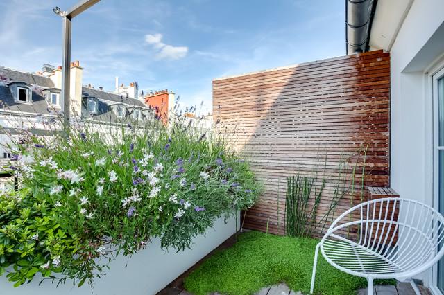balkon minimalis hijau tanaman cantik