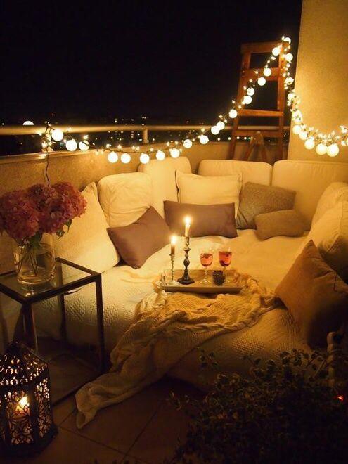 balkon romantis