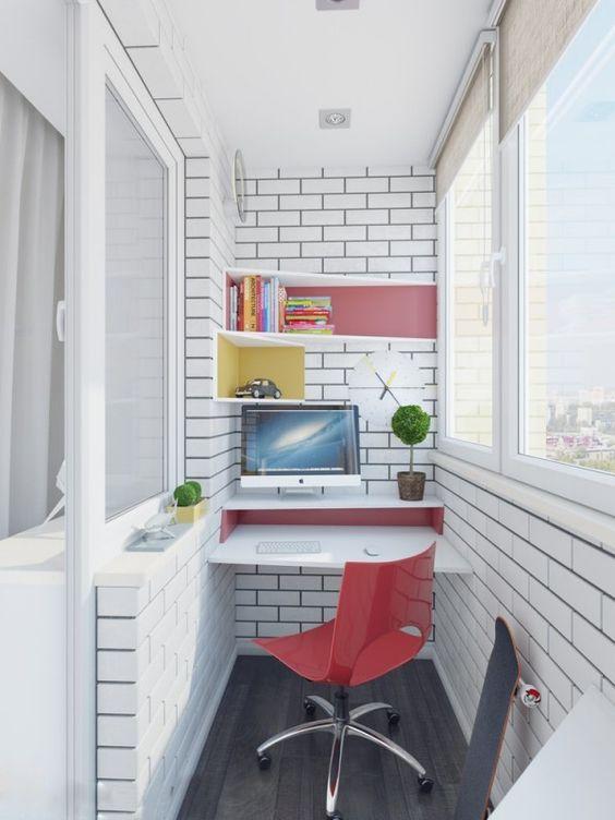 balkon ruang kerja