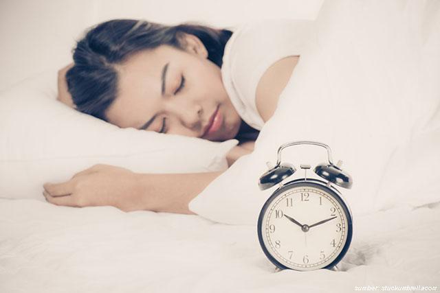 bangun sahur tepat waktu