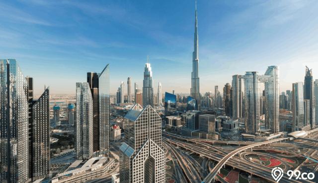 bangunan tertinggi dubai city tower