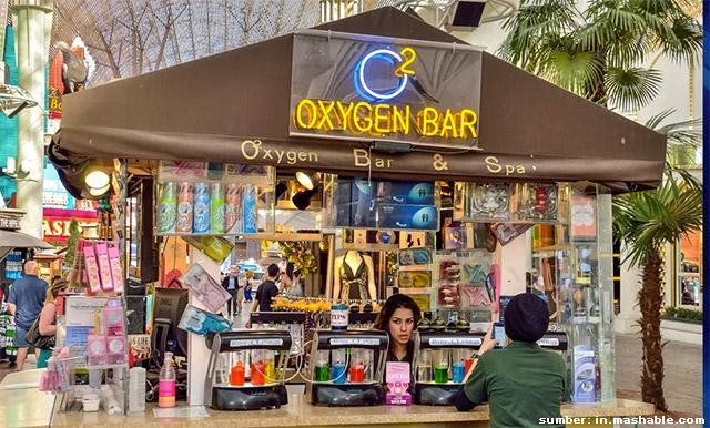 bar oksigen india