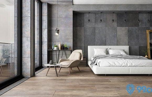 kamar tidur batu alam