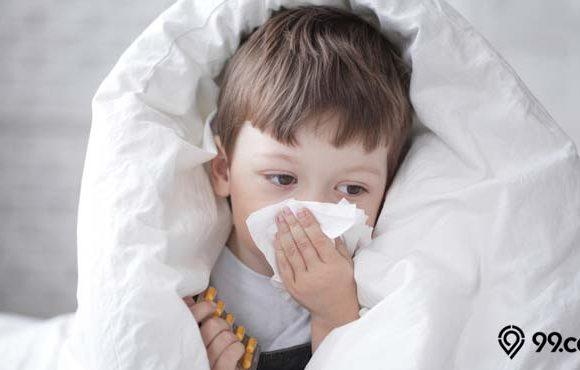 cara mengobati batuk pada bayi