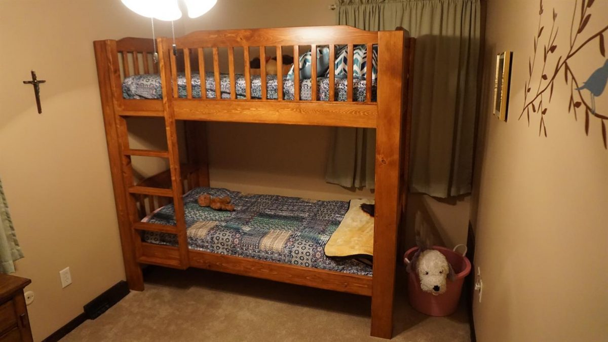 ide bunk bed diy