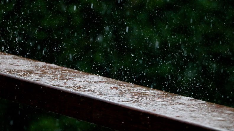 aroma hujan petrichor